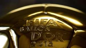FIFA BALON DE ORO 15122015