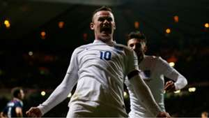 Wayne Rooney Scotland England Friendly Match Glasgow 18112014