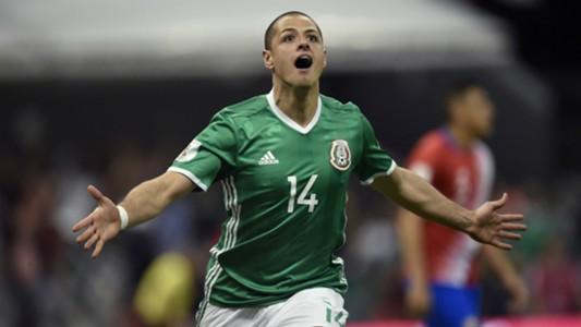 Javier Hernández México - Costa Rica