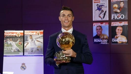 Cristiano Ronaldo Balon de Oro 2016