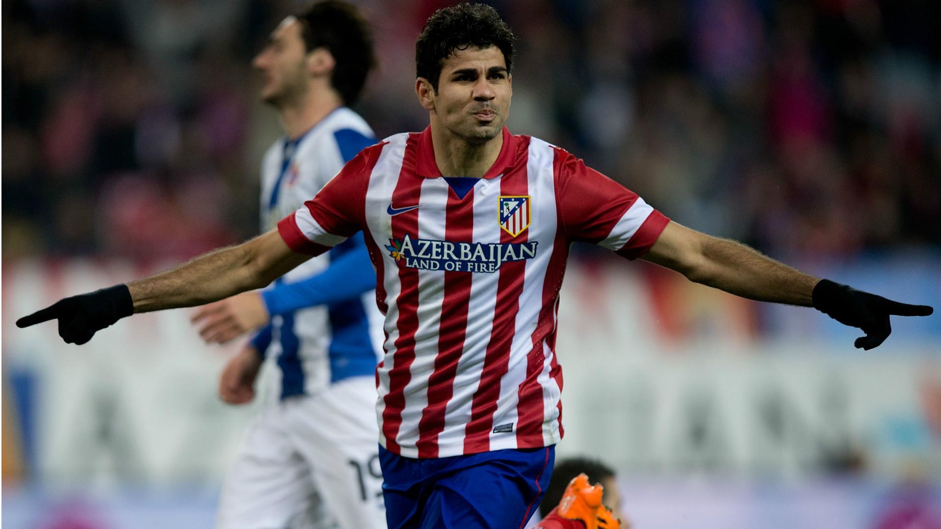 Diego Costa Atletico de Madrid Deportivo La Coruña La Liga 15032014
