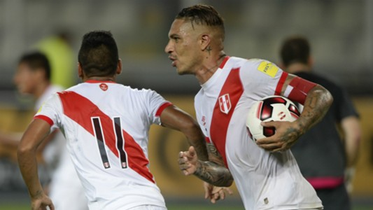 Paolo Guerrero Peru Venezuela South America World Cup Qualifiers 2016
