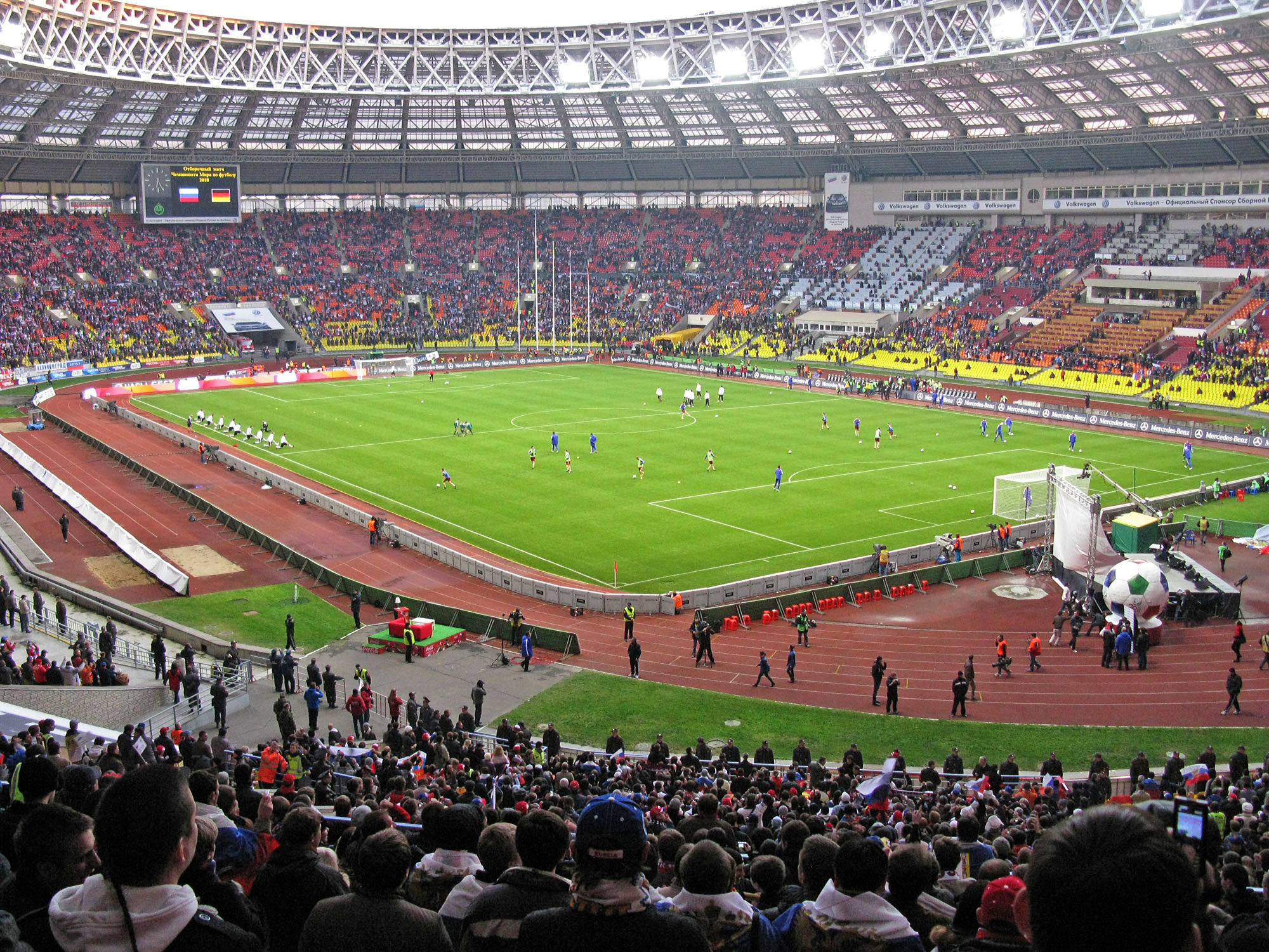 Luzhniki - Rusia 2018