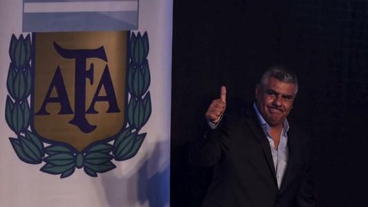Claudio Chiqui Tapia Asociacion del futbol argentino AFA 29032017