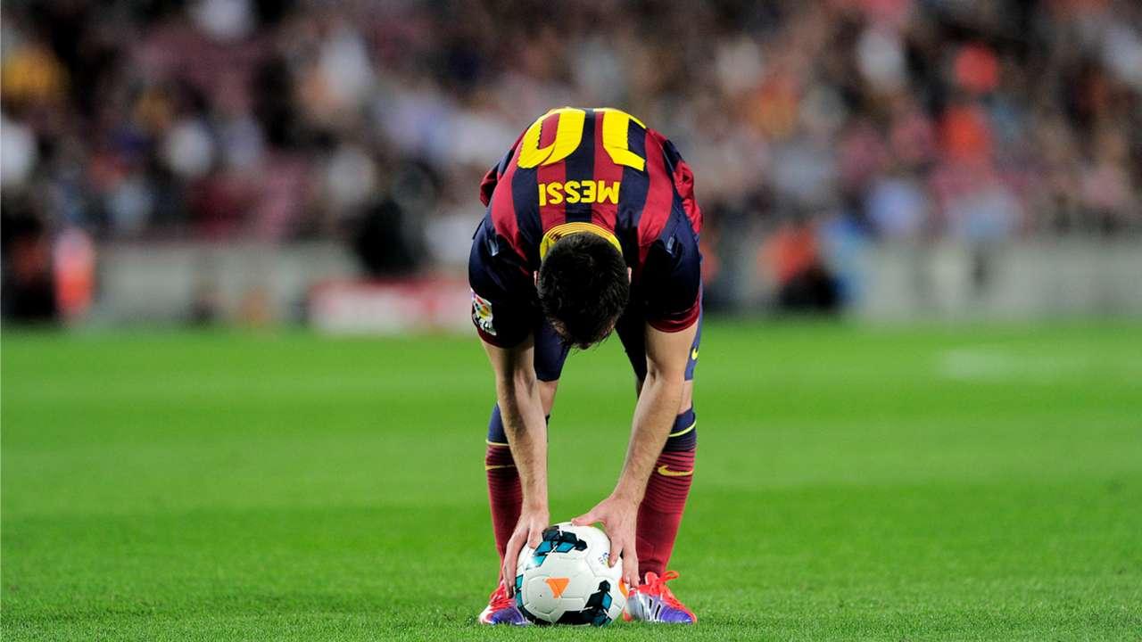 Messi tiros libre