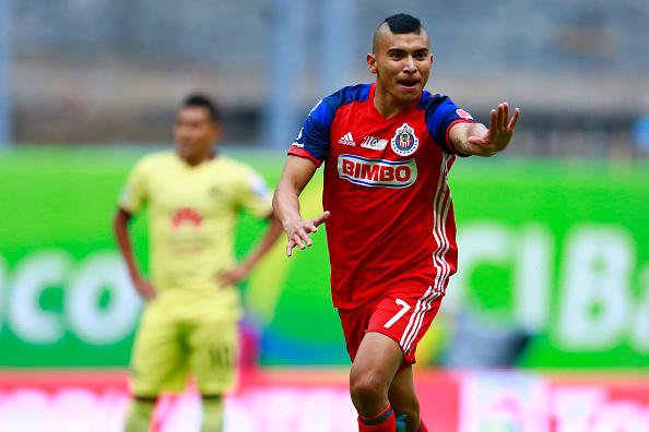 Orbelín Pineda Chivas Liga MX