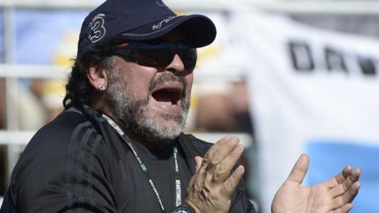 Diego Maradona Copa Davis 2012