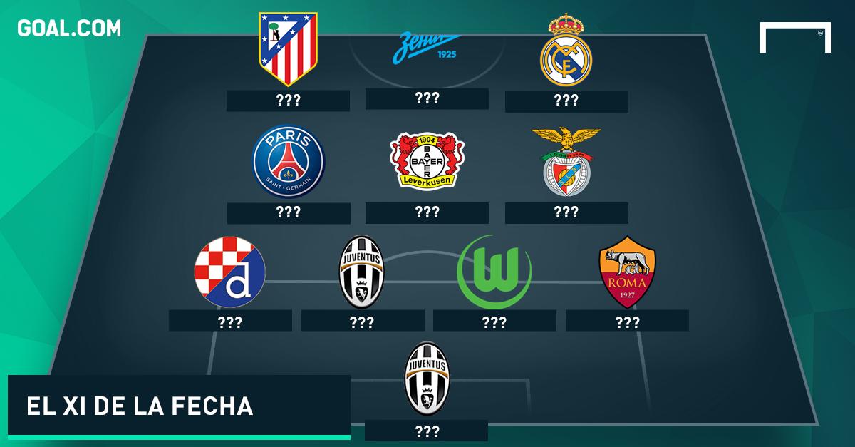 XI ideal de la Champions