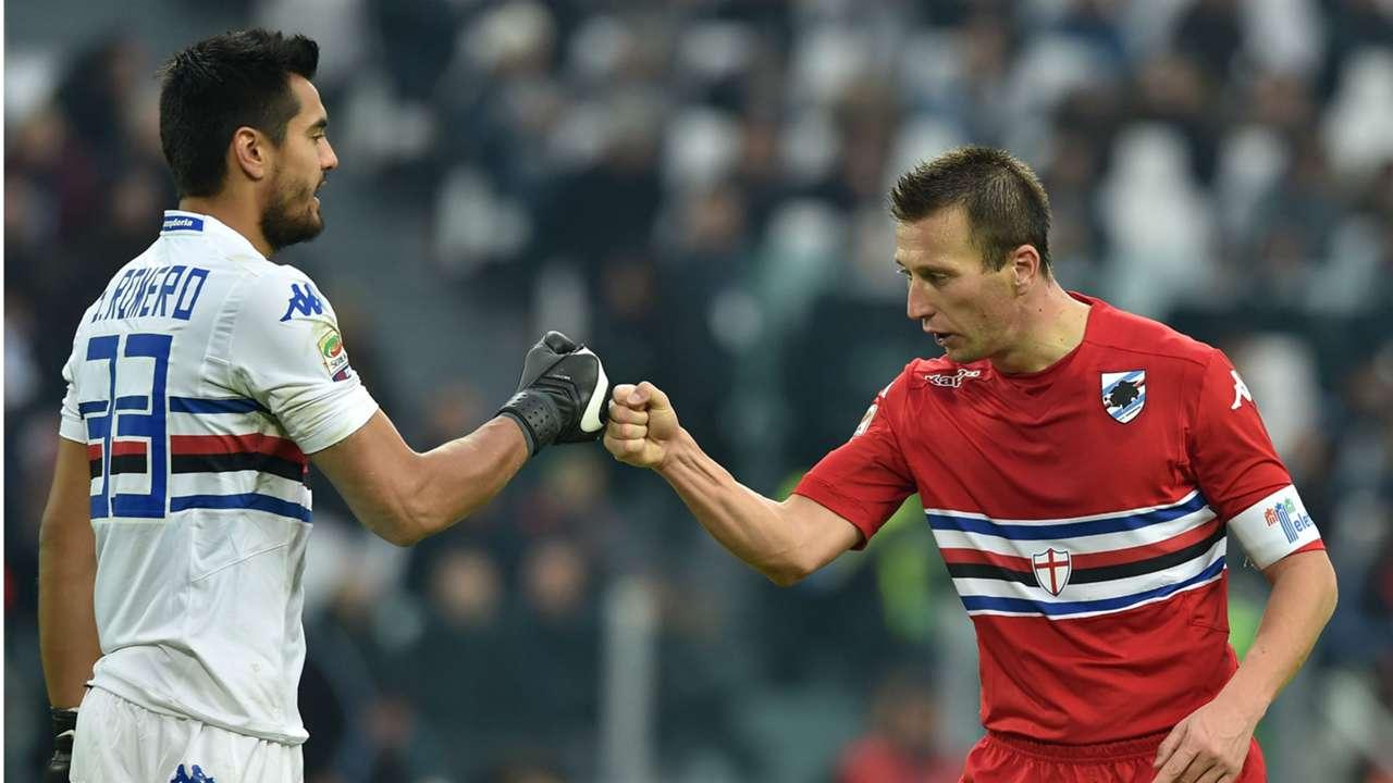 Sergio Romero Juventus Sampdoria 14122014