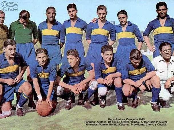 Boca campeón 1935