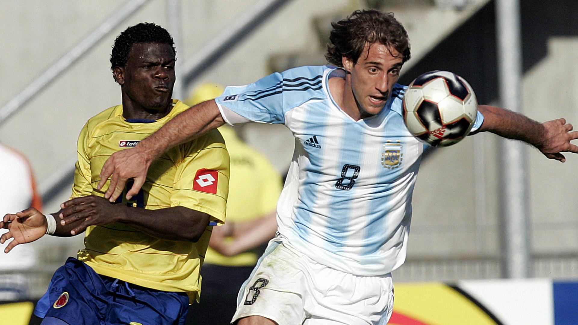 Zabaleta - Argentina 1-0 Colombia. Eliminatorias Sudamericanas 2006 - 30032005