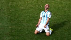 Javier Mascherano Argentina - Belgium  FIFA World Cup 2014