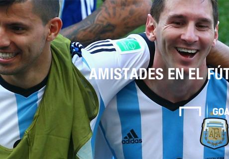Grandes amistades argentinas en el mundo del fútbol