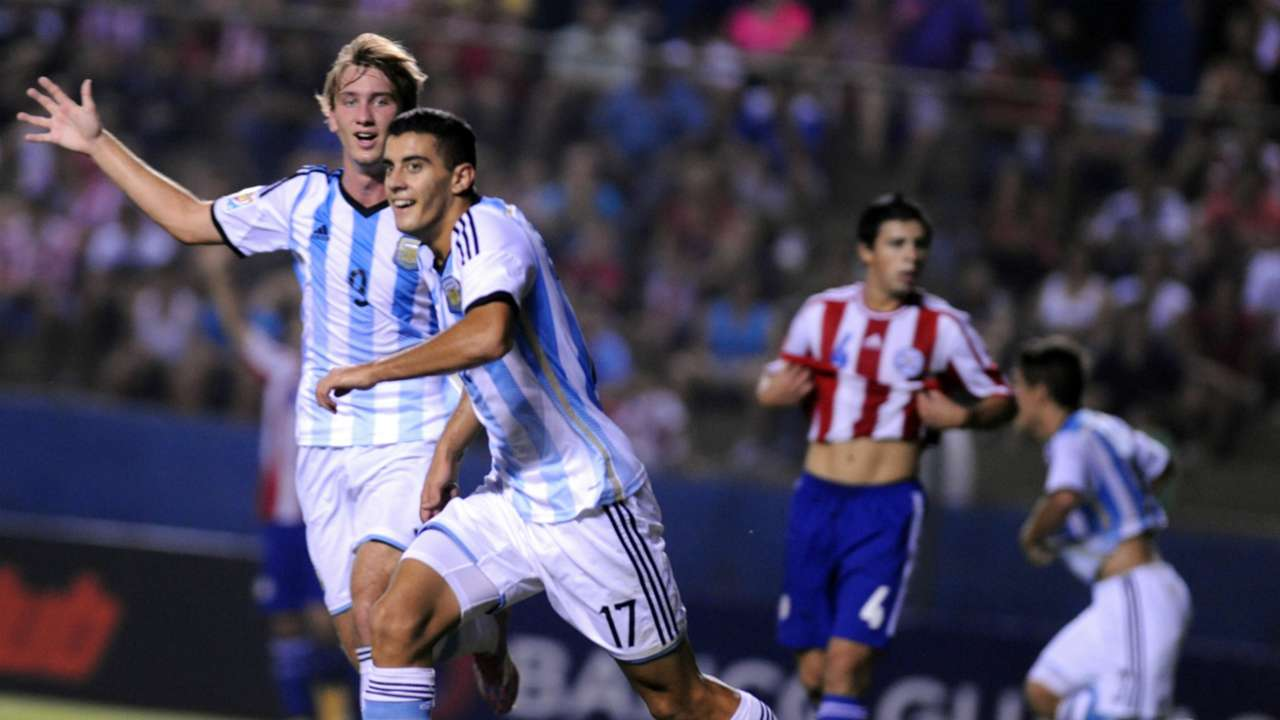 Paraguay Argentina Sudamericano Sub-17 Germán Berterame