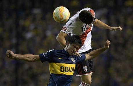 Pablo Perez Matias Kranevitter Boca Juniors River Plate Copa Libertadores 14052015