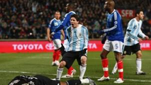 Lionel Messi France Argentina Friendly 11022009