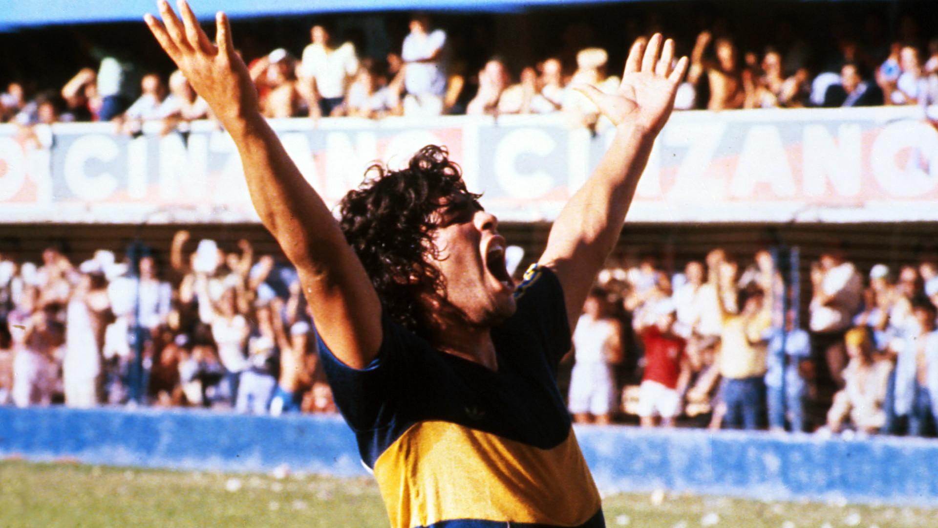 Diego Maradona Boca Juniors Talleres Metropolitano 22021981