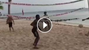 Juan Cuadrado Voley Playa