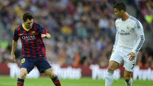 Messi Ronaldo Barcelona Real Madrid Camp Nou La Liga 26102013