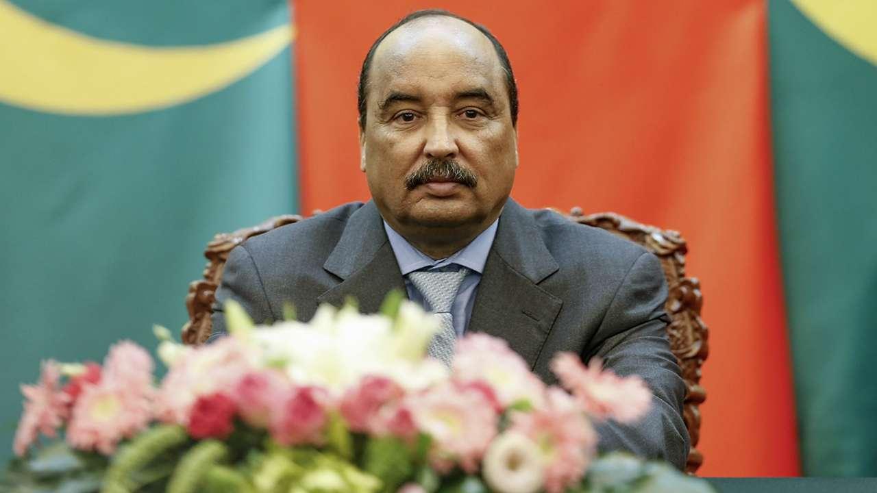Presidente Mauritania Mohamed Ould Abdel Aziz