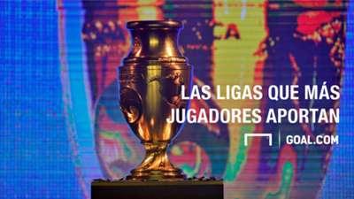 Playing Surface Las ligas que más jugadores aportan a la Copa America Centenario