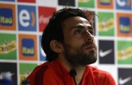 Jorge Valdivia. Rueda de prensa. Chile. 21032017