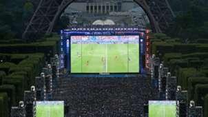 Fan Fest Torre Eiffel incidentes Eurocopa 2016