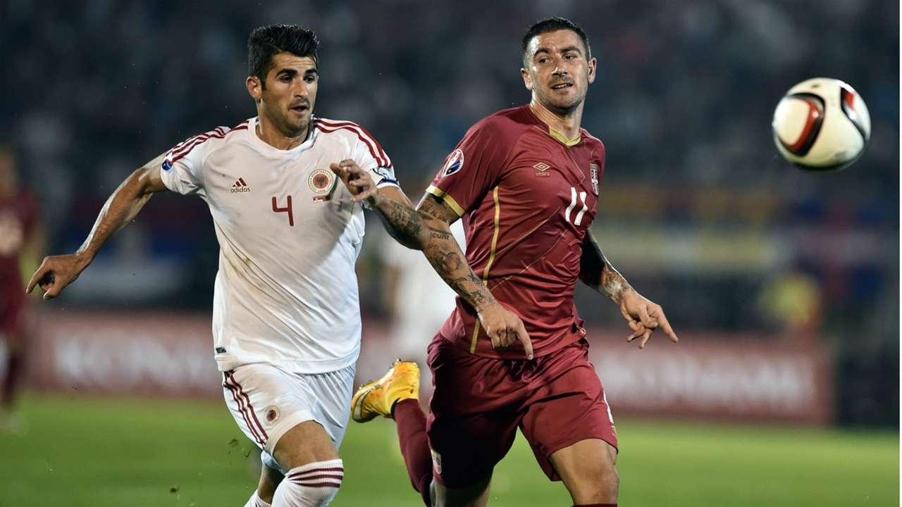 Serbia Albania EURO 2016 Qualifier
