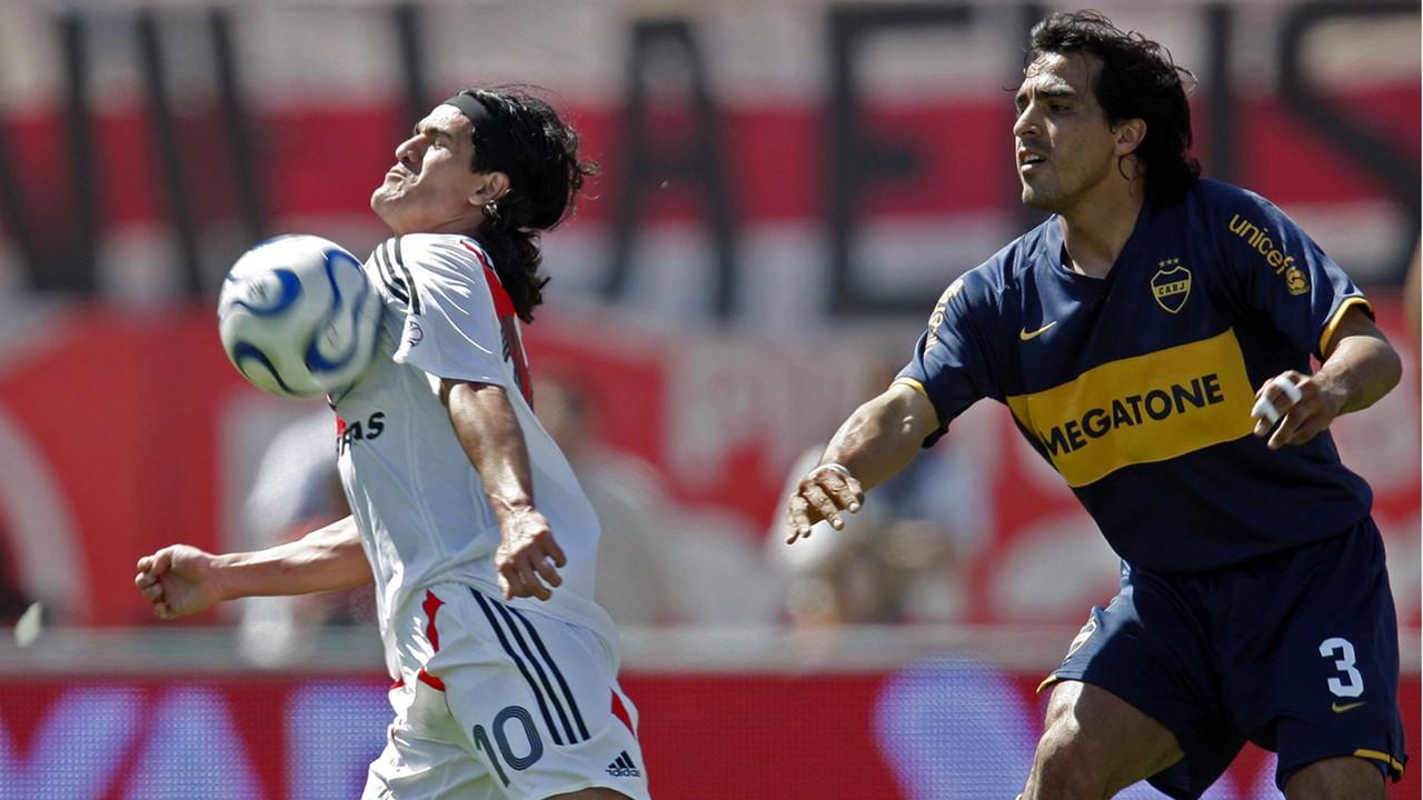 Ariel Ortega Claudio Morel Rodriguez River Plate Boca Juniors Torneo Apertura 2007