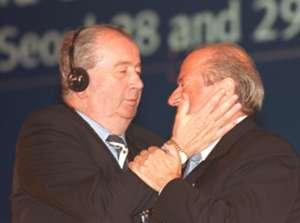 Joseph Blatter Julio Grondona 2002