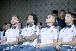 Real Madrid España Sergio Ramos Marcelo Pepe Cristiano Ronaldo
