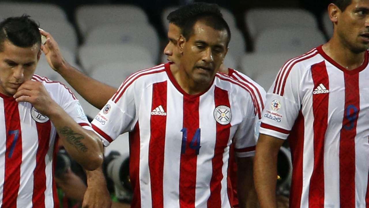 Paulo Da Silva Paraguay Jamaica Copa America 16062015