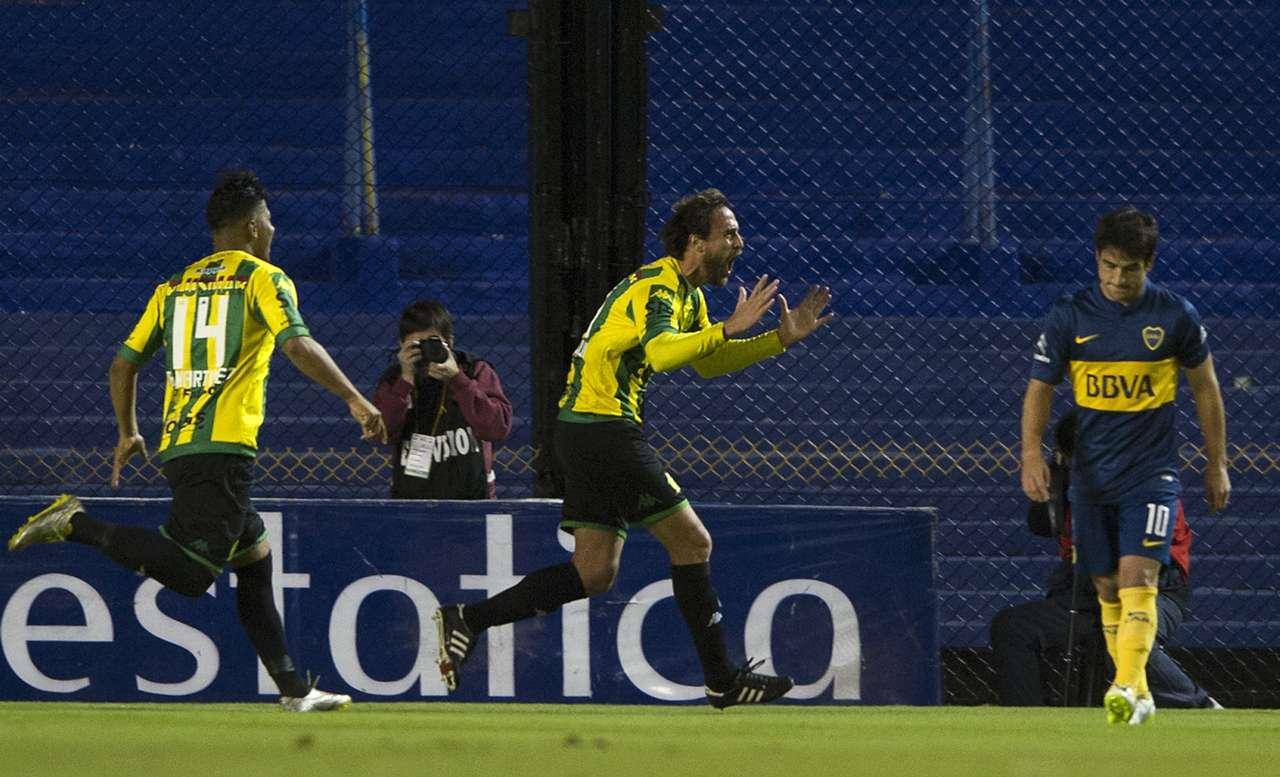 Lequi - Boca vs Aldosivi