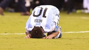 Lionel Messi final Argentina v Chile Copa America Centenario 2016