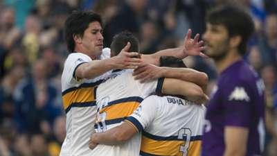 Festejo Boca Tigre Primera Division
