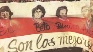 Bandera Son Los Mejores River Plate