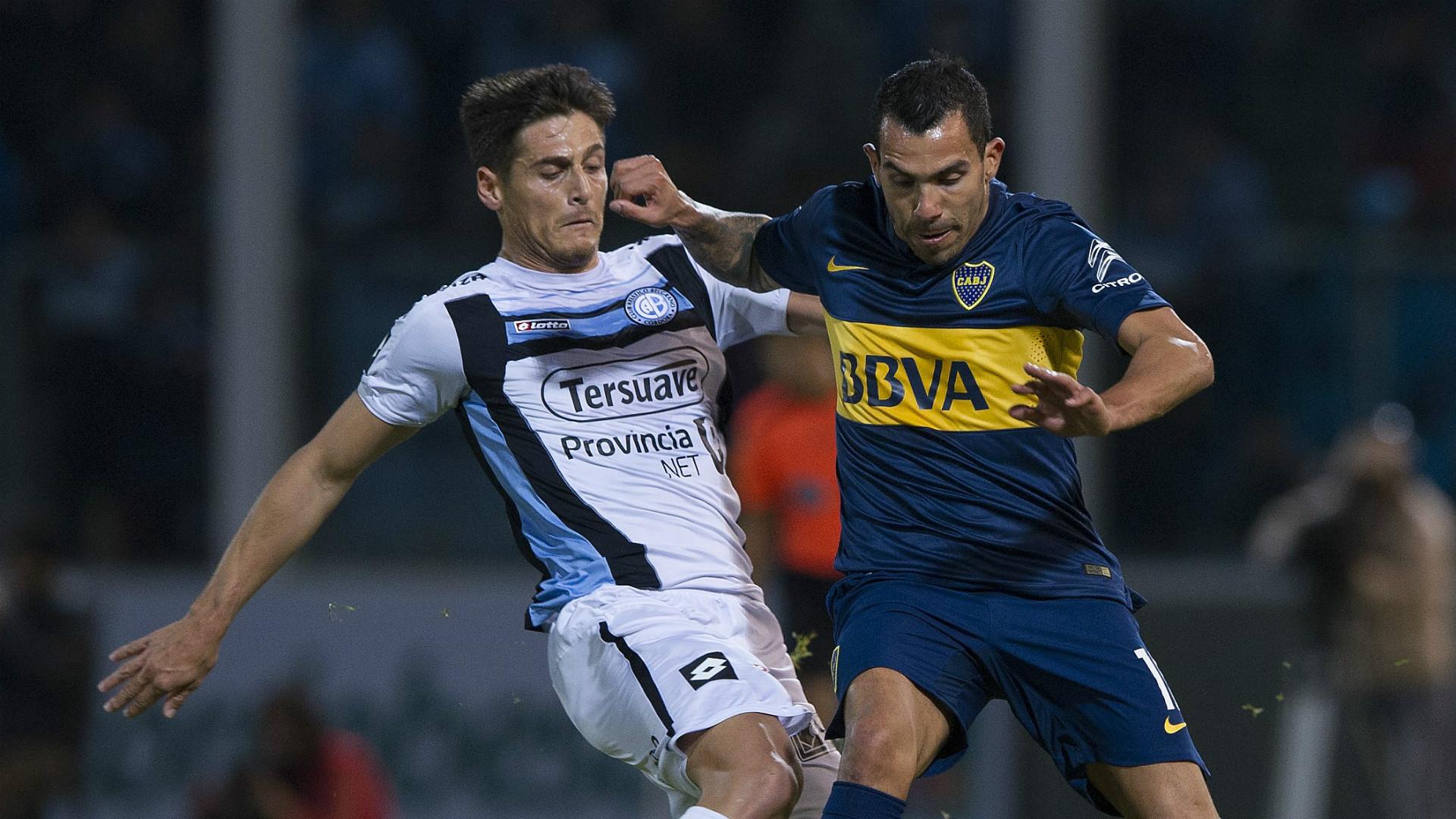Sebastian Prediger Carlos Tevez Belgrano Boca Juniors 2015