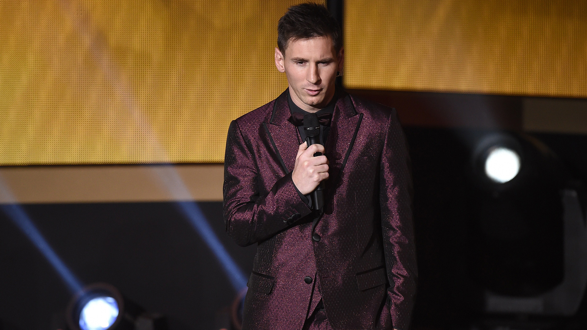 Looks Messi Ballon D'or 2014 Dolce & Gabbana
