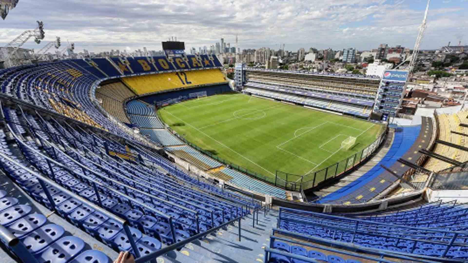 Boca Juniors Bombonera 090317