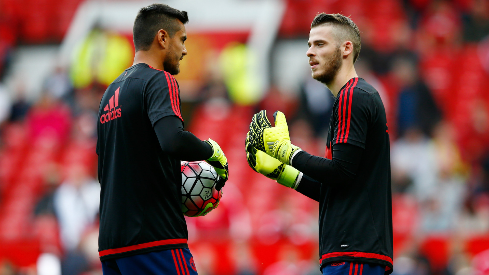 Sergio Romero David De Gea Manchester United Liverpool Premier League 14092015