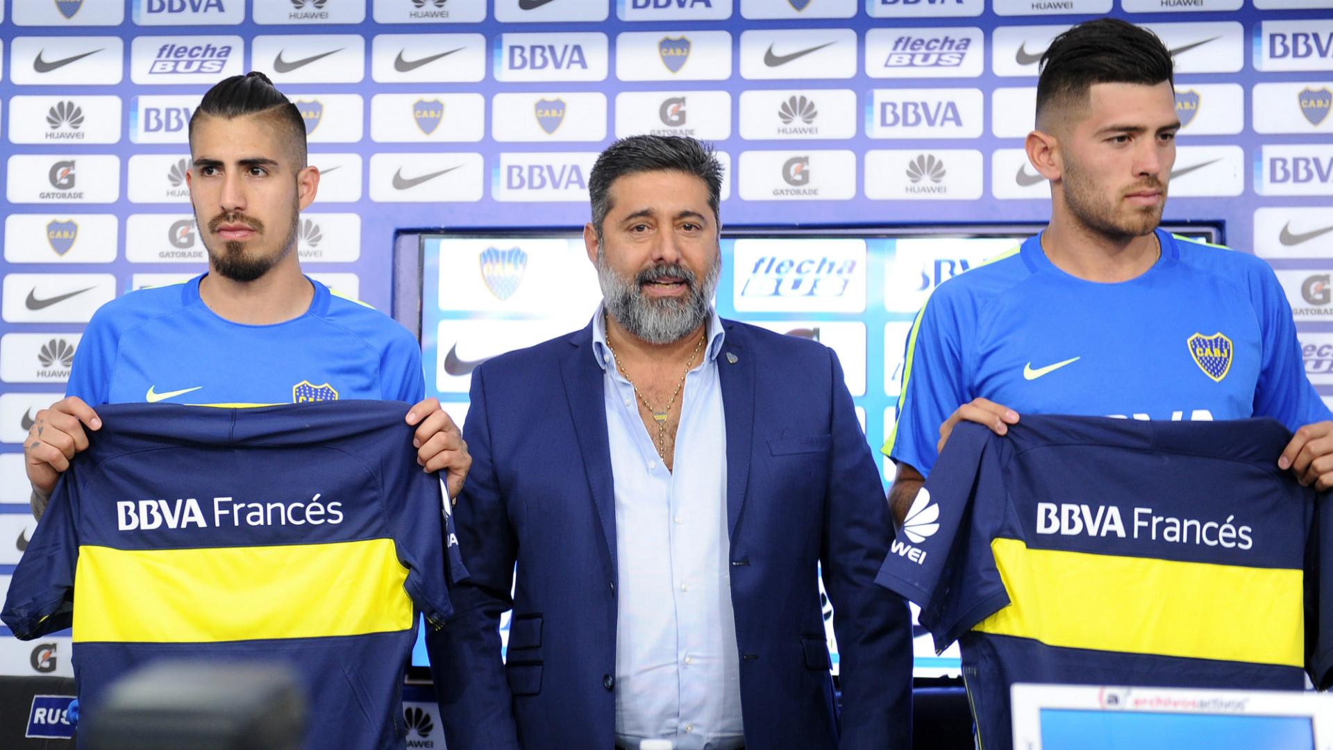 Daniel Angelici Agustin Rossi Junior Benitez Boca 07022017