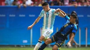 Mauricio Martínez Selección argentina Sub 23