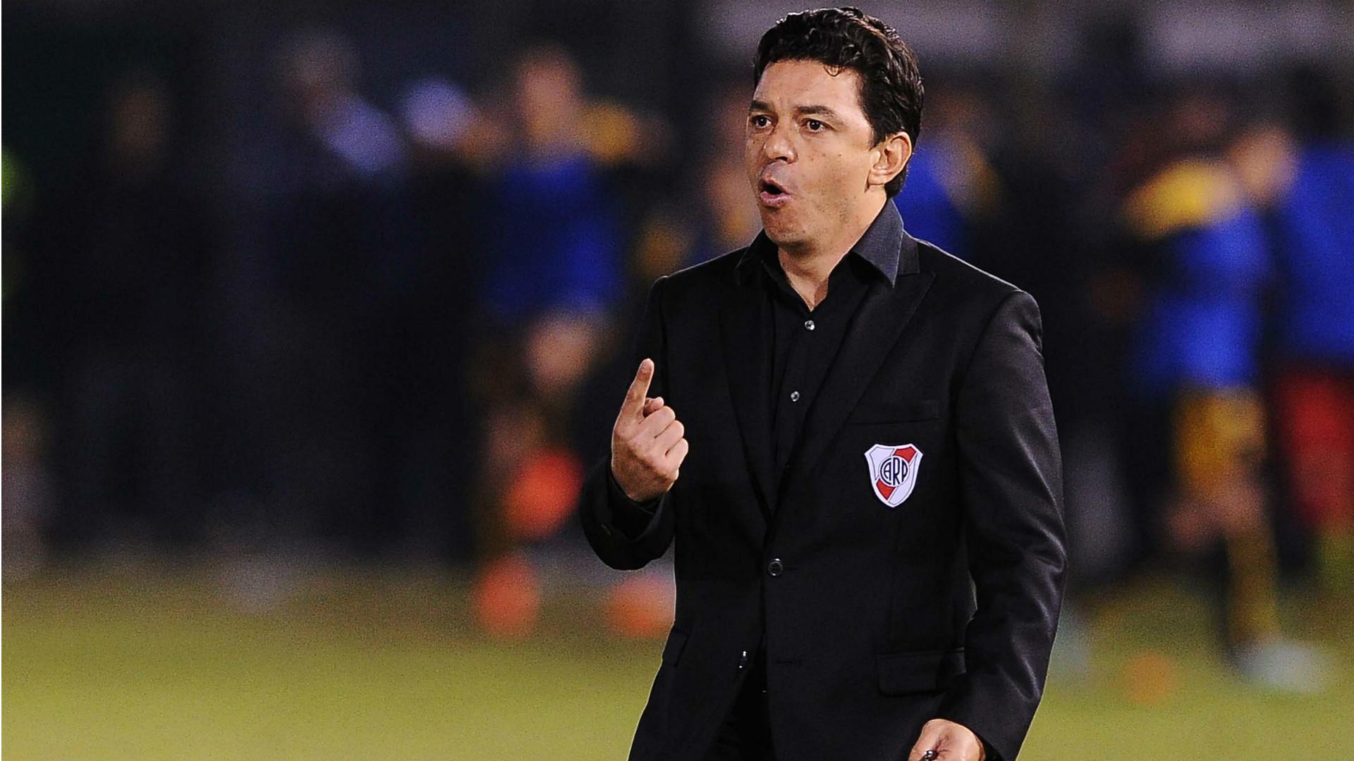 Marcelo Gallardo Guarani River Plate Copa Libertadores semifinal 21072015