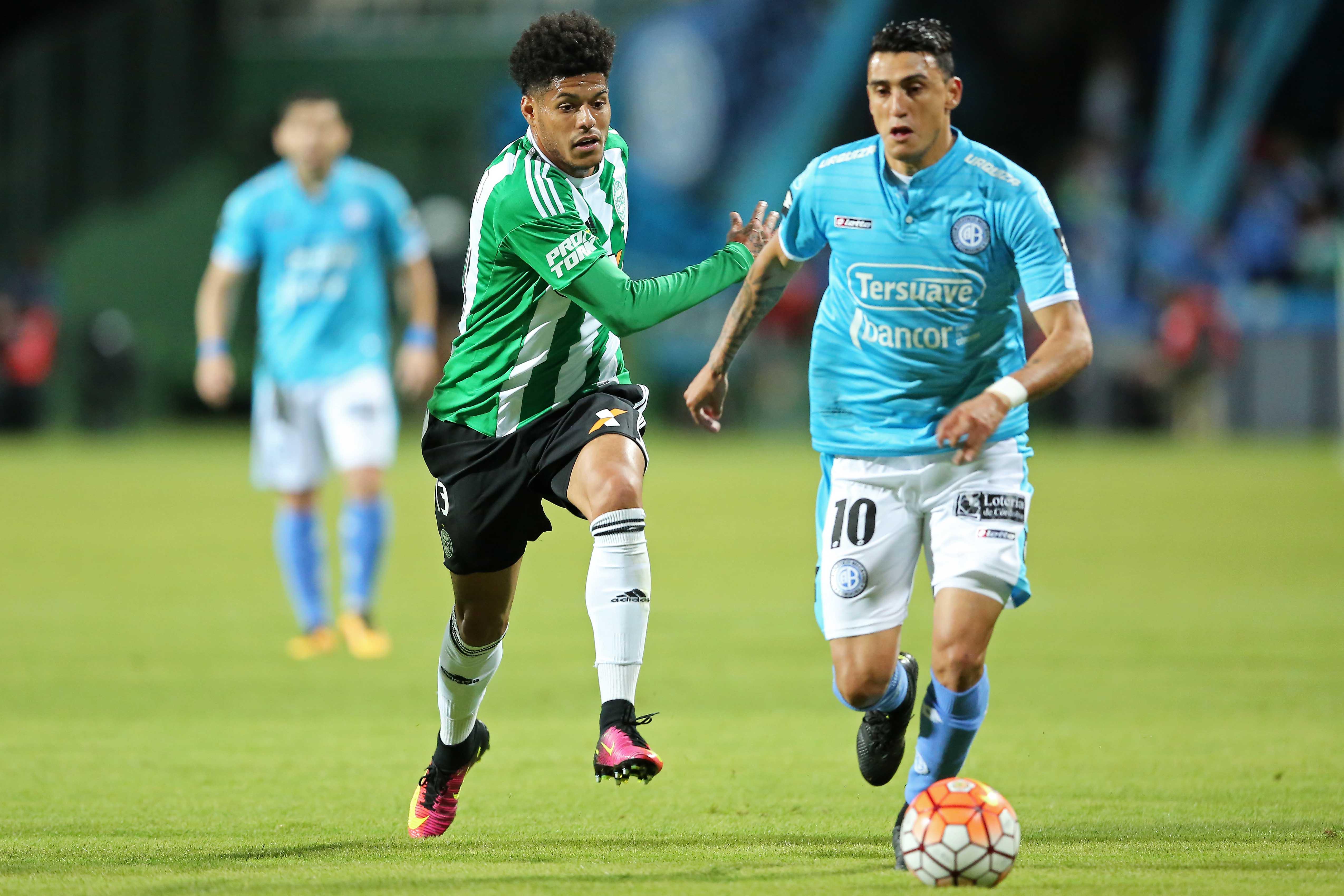 Matias Suarez Coritiba Belgrano Copa Sudamericana 21092016