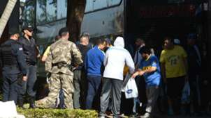 Boca Juniors fans arrested Paraguay 29042016