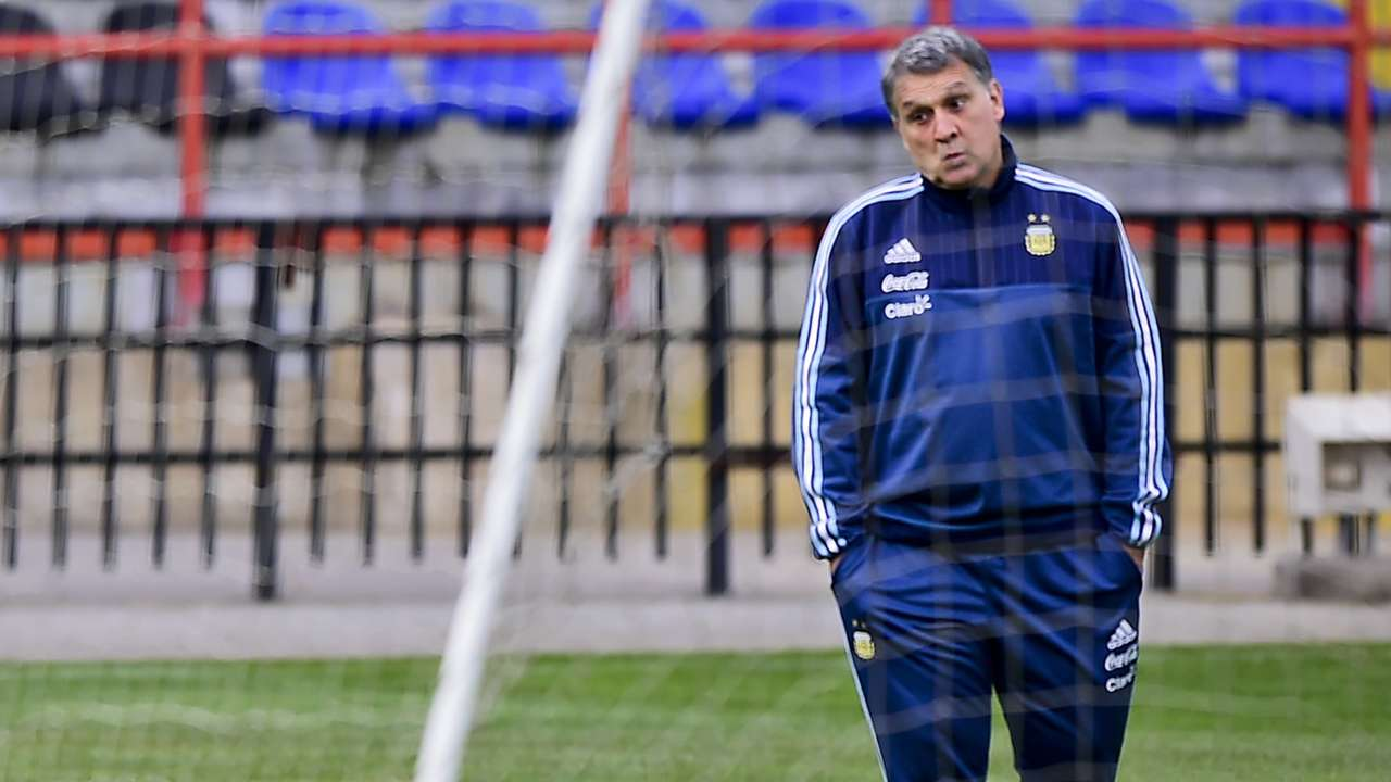 Gerardo Martino Argentina training 01072015