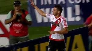 Lucas Alario Godoy Cruz River Primera Division 02042017