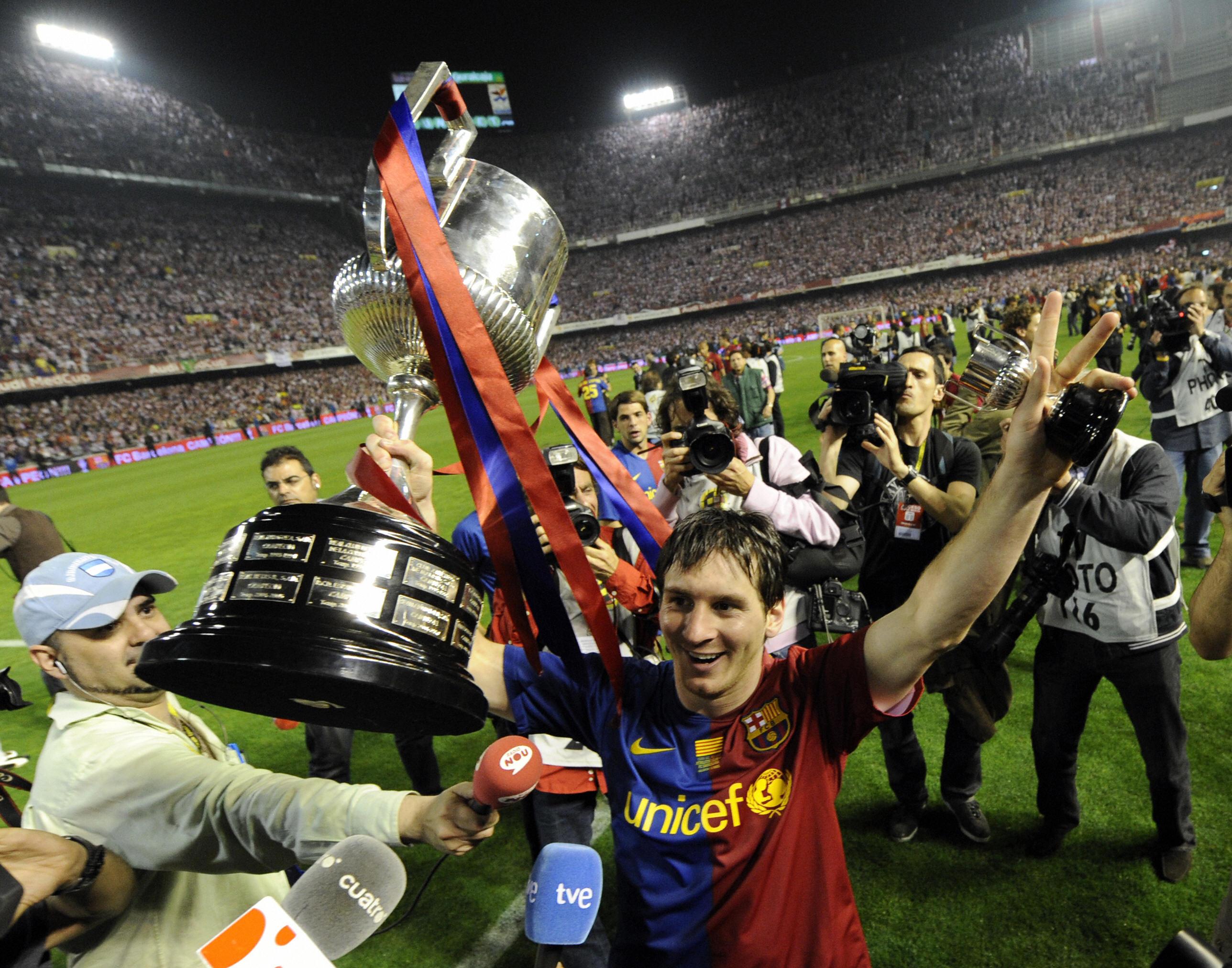 Messi, Liga 2009