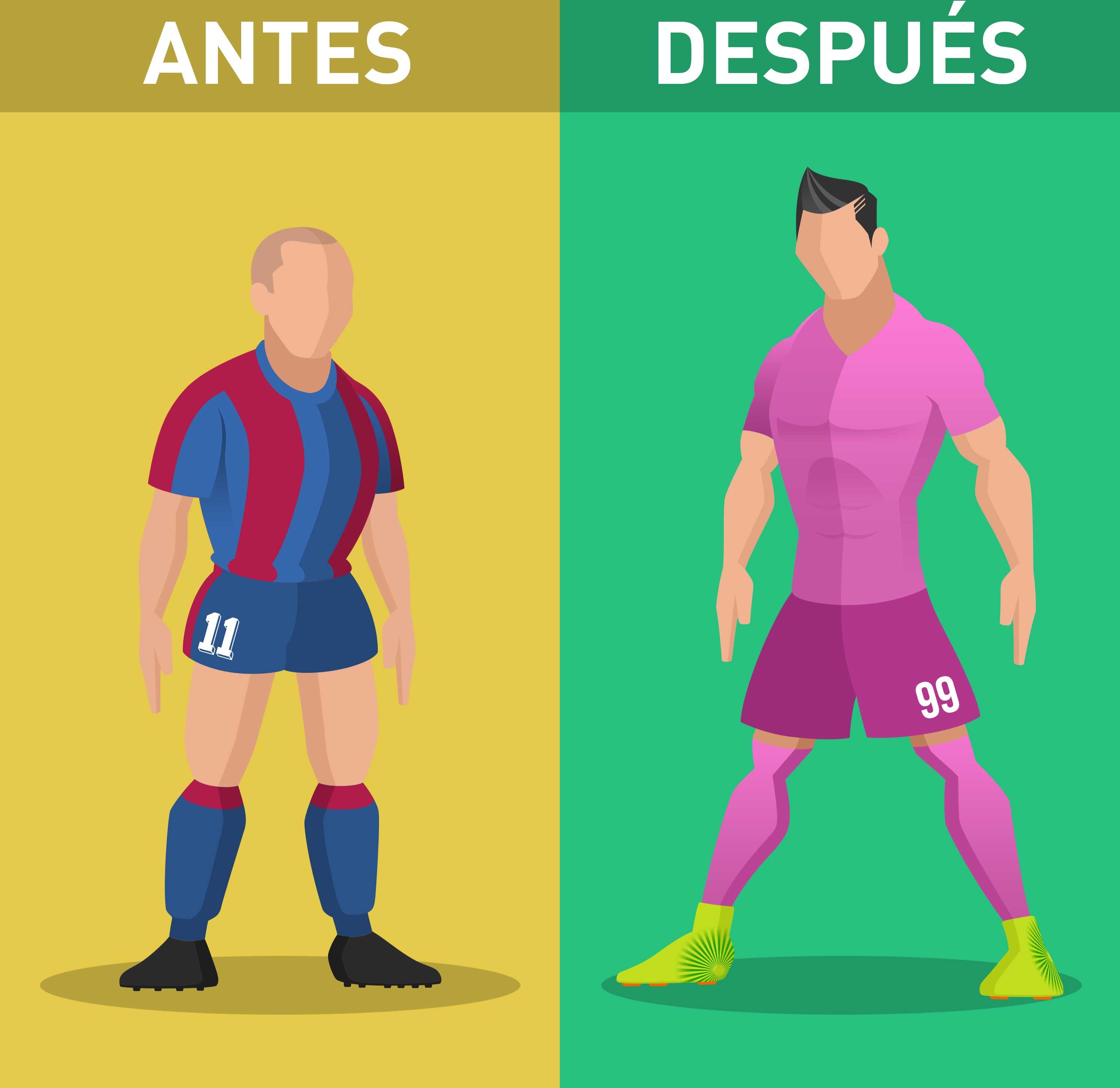 Futebol do passado x futebol de hoje - O que mudou   0ec341d486bc9