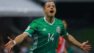 Chicharito Hernandez Mexico Costa Rica Estadio Azteca Eliminatorias 24032017